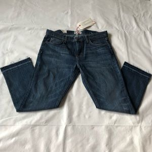 "Current/Elliot ""The Cropped Jeans"""